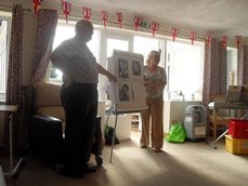 Dementia Singing Cafe At Hinckley Park Care Home
