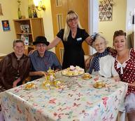 Nostalgic tea party celebrations in Redditch