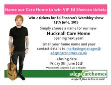 Competition to win ed sheeran vip tickets m4hsunfo