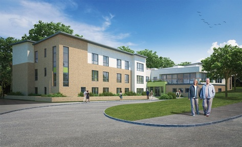 Artist' impression of new Care UK home in Edinburgh