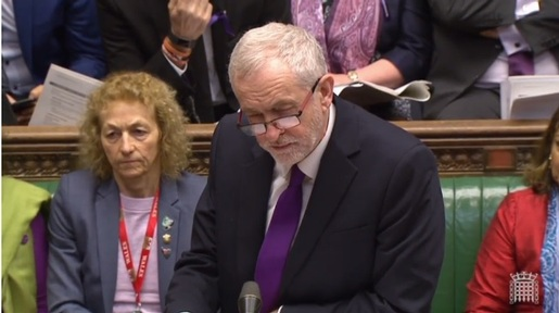 Labour leader Jeremy Corbyn responds to Chancellor's budget speech