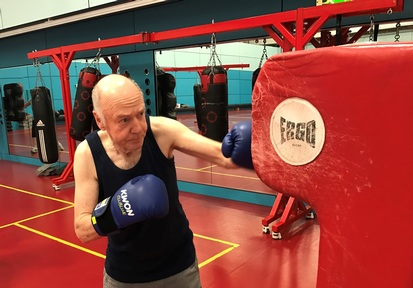 Boxing at Fitness Zoo helps ease Parkinson's symptoms