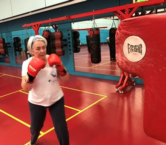 Fighting Parkinson's one punch at a time