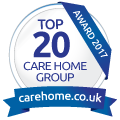 carehome.co.uk Top 20 Care Home Group Awards 2017