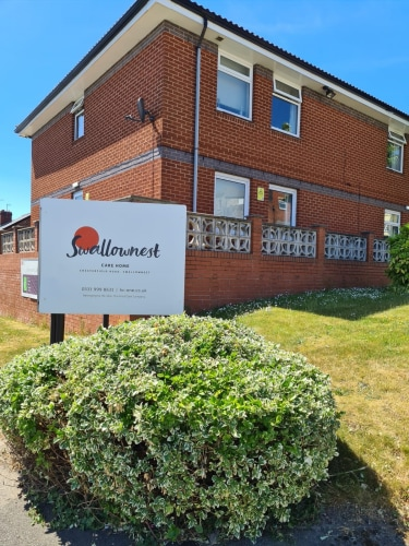 Swallownest Care Home Chesterfield Road Swallownest Sheffield South Yorkshire S26 4tl