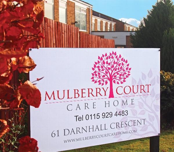 Mulberry Court Care Home, 61 Darnhall Crescent, Bilborough