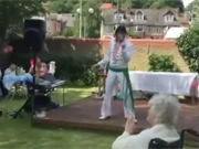 Elvis lives at St Margaret's Nursing Home