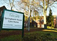 Springbank House Care Home, Chesterfield, Derbyshire